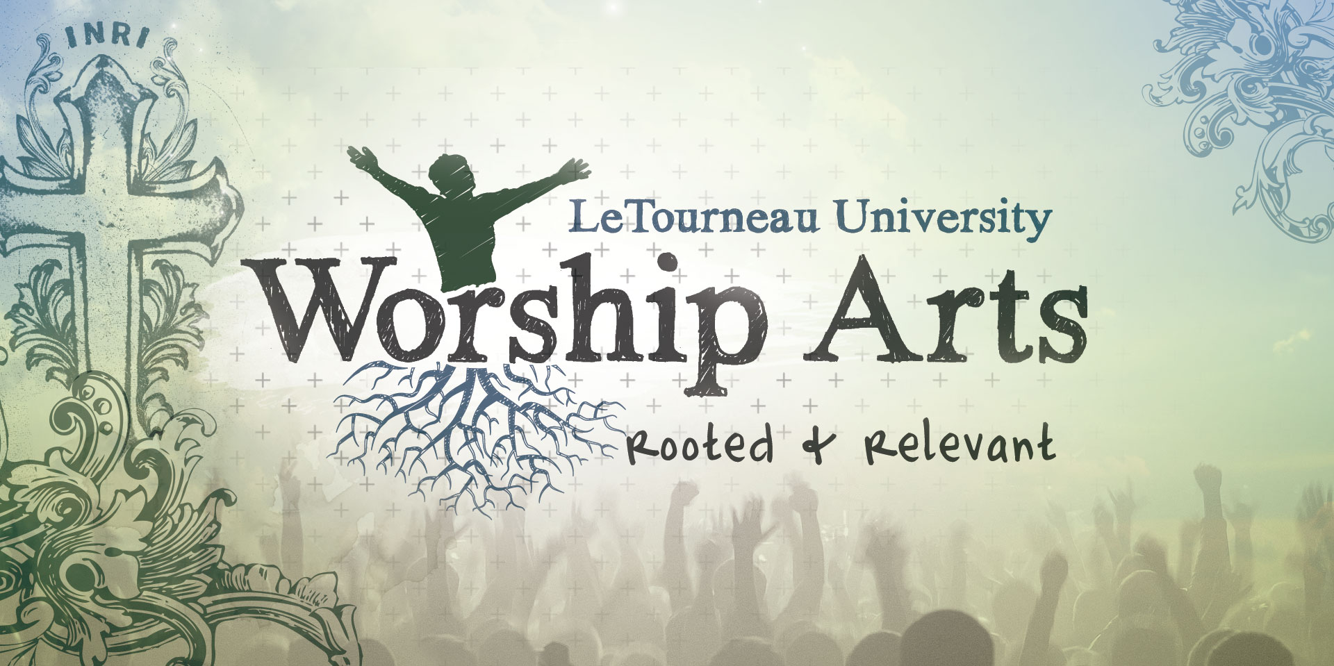 Identity work for the Worship Arts program at LeTourneau University
